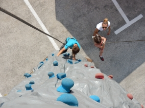 vidéo de grimpe